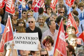 MANIFESTACION DE FUNCIONARIOS EN ZARAGOZA