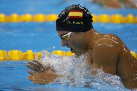 Joan Lluis Pons se clasifica para la final de Río con un nuevo récord de España en los 400 estilos