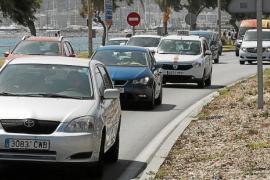 El turismo eleva un 11 % el tráfico de la autovía de Llevant a Palma