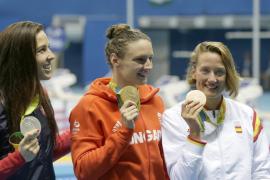 Mireia Belmonte, primera medalla de España en Río 2016 tras colgarse el bronce en los 400 estilos