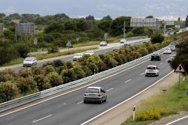 Muere un joven en la autopista de Llucmajor tras caer de una moto en la que iba de 'paquete'