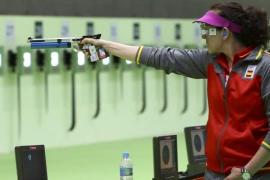 Sonia Franquet se clasifica para la final de pistola desde 10 metros