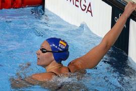 Melani Costa se queda sin final en los 400 libres