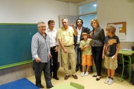 El colegio estrena cuatro nuevas aulas de educación infantil y primaria
