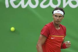 Nadal debuta en Río con una contundente victoria ante Delbonis