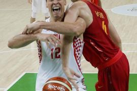 Derrota de España ante Croacia
