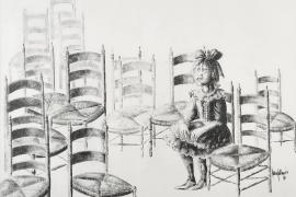 Los dibujos a tinta china de Juan Gallardo llegan a Can Prunera