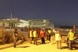 Jornada con pocos incidentes en Palma