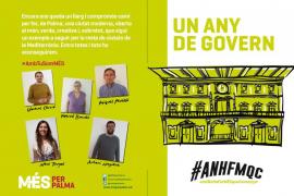 MÉS destaca la mejora de la limpieza en todos los barrios de Palma tras un año en Cort