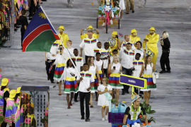 El abanderado de Namibia, segundo deportista olímpico detenido por acoso sexual