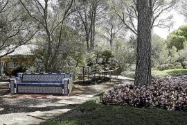 Una verja separará los jardines de la zona habitada en Marivent