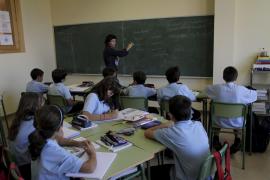 Mayor presencia de profesores que de alumnos en los centros educativos