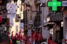 El cierre de comercios  por la huelga general ha sido «imperceptible»
