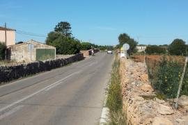 Un joven muere tras un accidente de moto en ses Salines