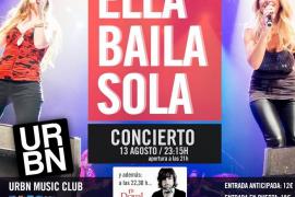 Marta Botía de 'Ella baila sola' actúa en Urbn Club
