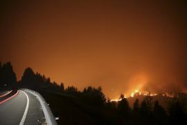 Tres incendios queman más de 800 hectáreas en Pontevedra