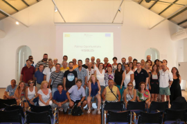 PalmaActiva cierra 'Visibles', un programa de contratación de parados de larga duración