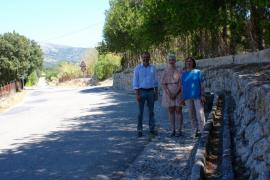 Campanet pavimentará y hará canalización de las aguas pluviales del Camí Blanc