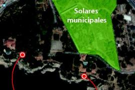Cort proyecta una gran zona verde y un aparcamiento junto a Marivent