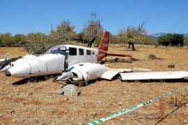 Accidente de una avioneta en Inca