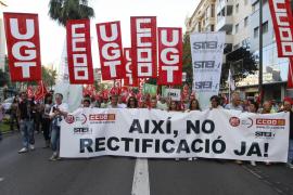 8.000 voces claman en Palma contra la política de ZP