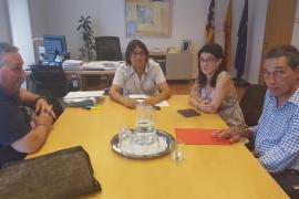 Negueruela y los sindicatos discuten la siniestralidad laboral en Balears