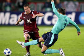 El FC Barelona vuelve a estrellarse contra el muro tártaro (1-1)