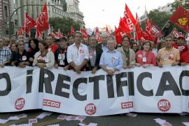 HUELGA GENERAL/MANIFESTACIÓN UGT Y CCOO EN MADRID