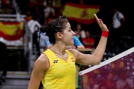 Carolina Marín empieza con fuerza en Riocentro
