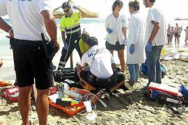 Fallece una turista de 52 años ahogada en Can Picafort