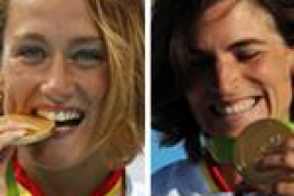 Mireia Belmonte y Maialen Chourraut