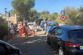Santanyí vigila los accesos a Cala s'Almonia con la imposición de 429 multas