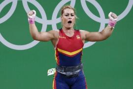 Lidia Valentín logra el bronce en la categoría de 75 kilos
