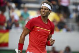Nadal remonta a Bellucci y peleará por las medallas en el cuadro individual
