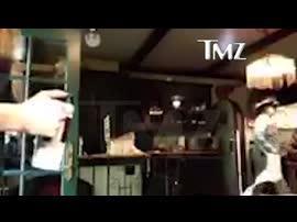 Un vídeo muestra a un Johnny Depp bebido y violento con su ex