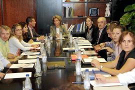 Calvo se compromete a «redefinir» el proyecto urbanístico de Platja de Palma
