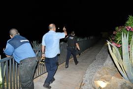 Un encapuchado asalta un chalet en Cala Llamp y agrede a sus dueños de 80 años