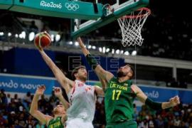 España aplasta a Lituania y Gasol se convierte en el tercer anotador olímpico
