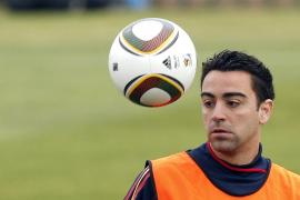 Xavi, seria duda para jugar ante el Mallorca