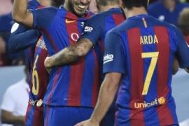 El Barcelona derrota al Sevilla y deja encarrilada la Supercopa de España