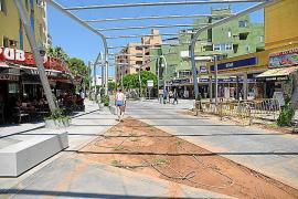 Obras inacabadas, ruidos y tráfico disgustan a vecinos de Magaluf