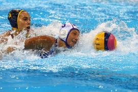 Fuera de la lucha por las medallas en waterpolo