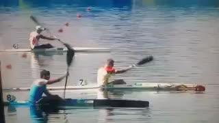 El mallorquín Marcus Cooper Walz se cuelga el oro en K1 1.000 metros