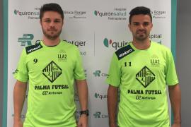 Maico y Diego Fávero, presentados con el Palma Futsal