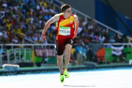 Bruno Hortelano, a semifinales de 200 metros batiendo a Blake
