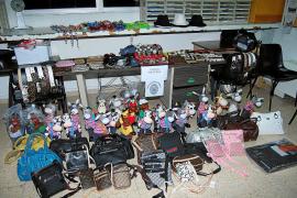Condenado un comerciante chino de Palma sorprendido con 12.000 objetos falsificados