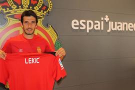 Lekic quiere «ayudar a conquistar el ascenso a Primera con goles»
