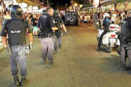 Nueve detenidos en s'Arenal en una pelea entre hinchas de equipos de fútbol rivales