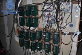 Conexión eléctrica ilegal