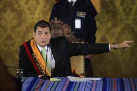 Intentona golpista en Ecuador
